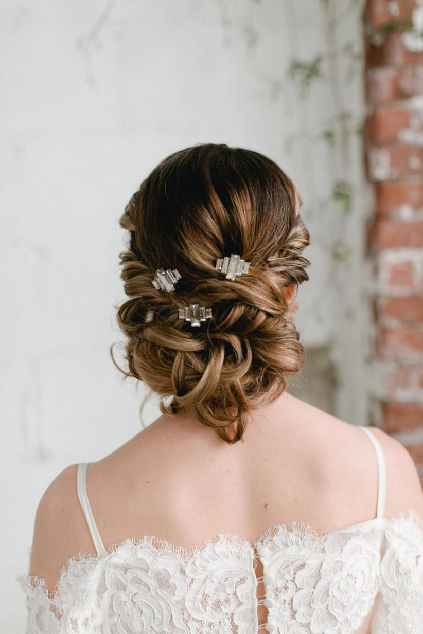 Wedding hair updo ideas 12