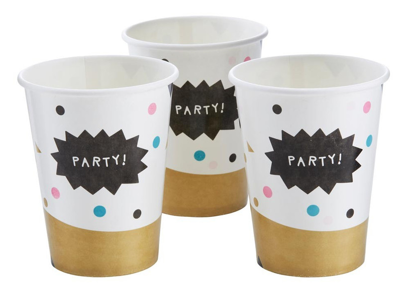 confetti-patterned-paper-cups