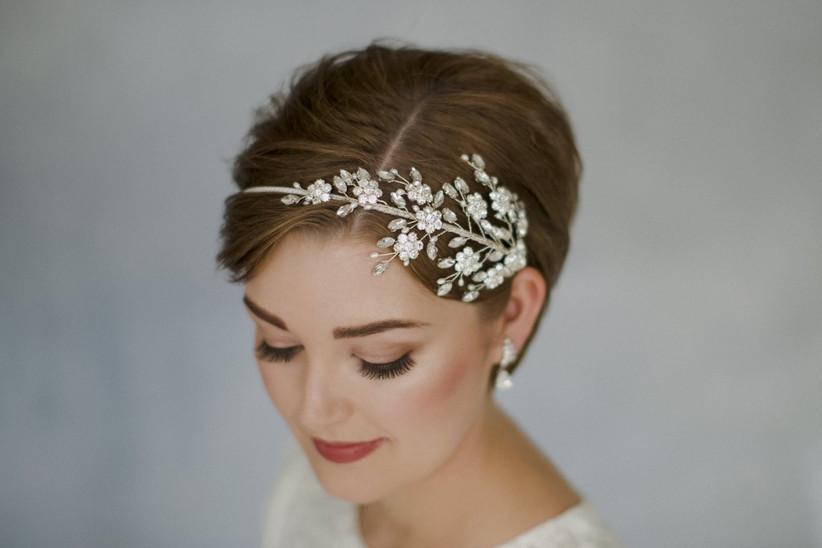 Debbie Carlisle side tiara