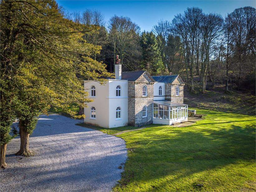 River house at Lancashire wedding venue Gisburne Park Estate