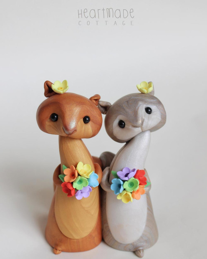 squirrel-wedding-cake-toppers