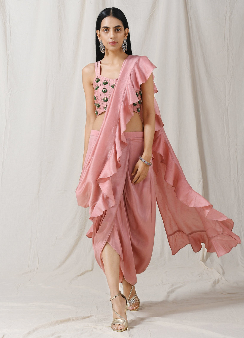 Indian wedding guest outfit 18