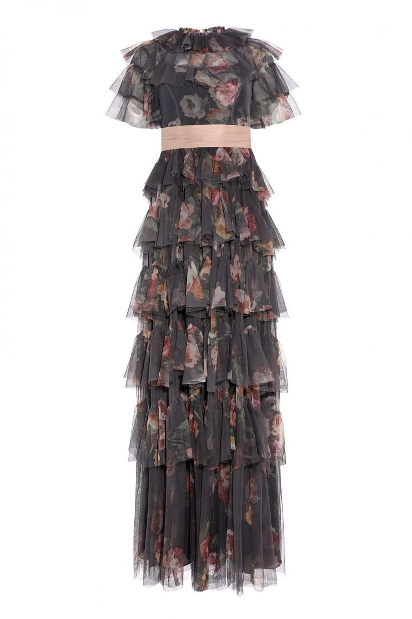 Tulle alternative wedding dress