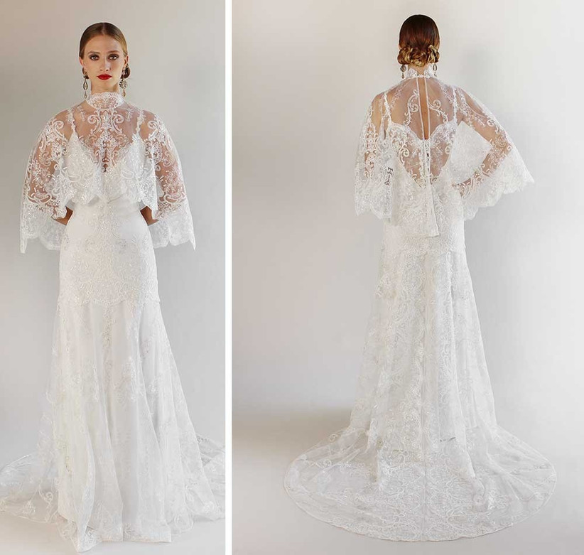 Wedding Dresses With Capes: 15 Styles