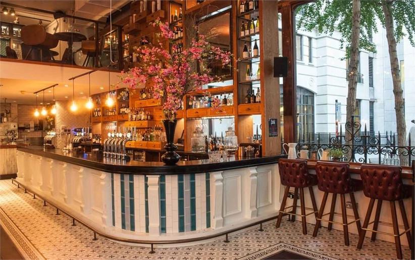 London Pub Wedding Venues Austin Friars
