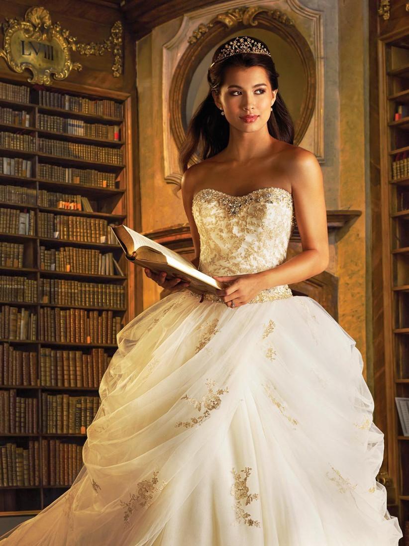 belle-inspired-disney-wedding-dress