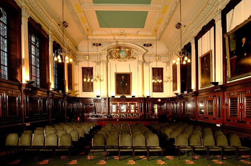Interior of the merchants house glasgow wedding venue