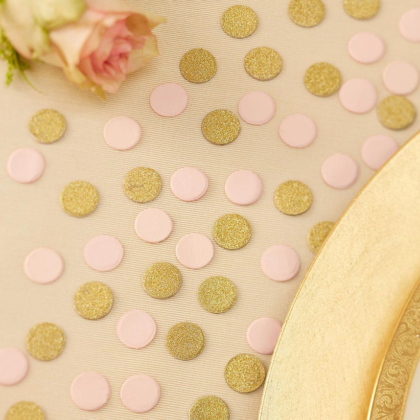 pink-and-gold-wedding-confetti