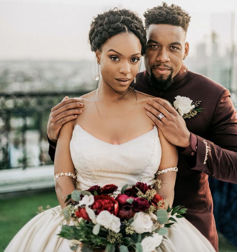 Black wedding hairstyles 13
