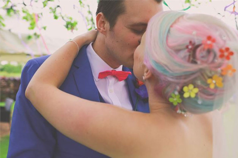 quirky-couple-and-bride-withcoloured-hair-2