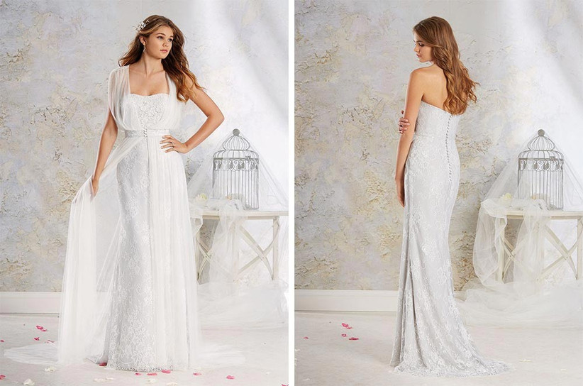 wedding-dress-with-sheer-cape