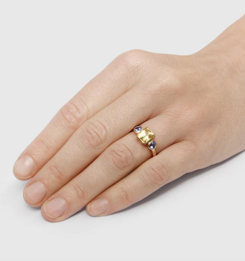 Unique engagement rings 19
