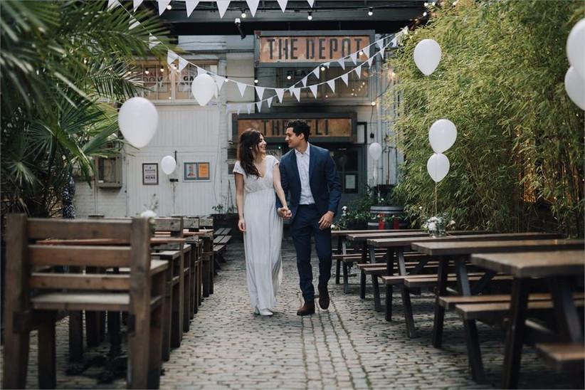 London Pub Wedding Venues The Depot