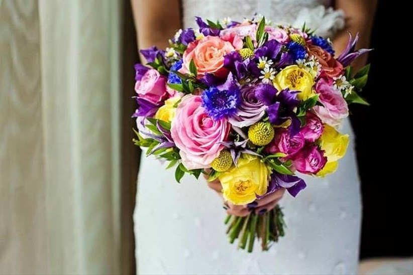 a-bouquet-of-multicoloured-summer-wedding-flowers-like-this-one-from-white-lilac-flowers-is-a-great-way-to-inject-colour-into-your-day