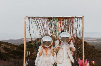 Disco Balls at Weddings: 25 of Our Favourite Ideas