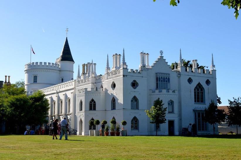 Grand white castle