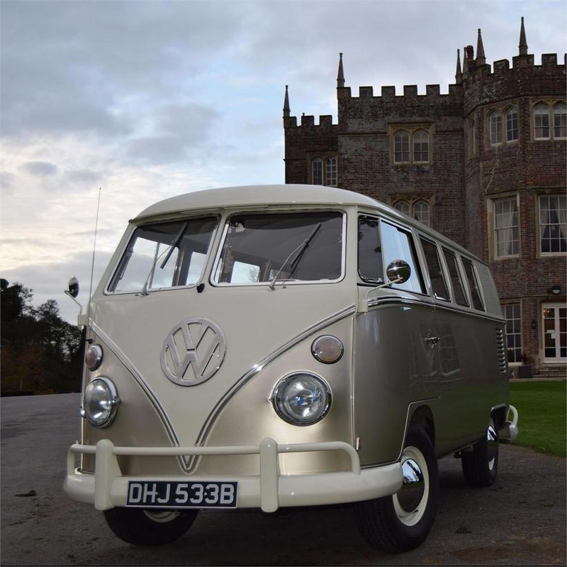 champagne-coloured-camper-van-for-weddings