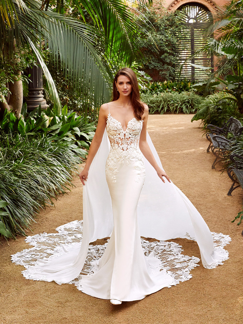 Enzoani's Pearl lace wedding dress from the new 2021 collection