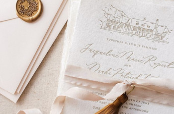 10 Creative and Gorgeous DIY Wedding Invitation Ideas