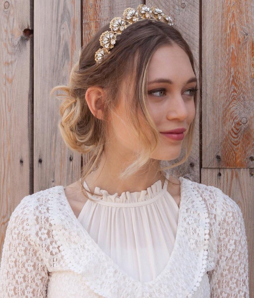 Etsy 1930s fan tiara