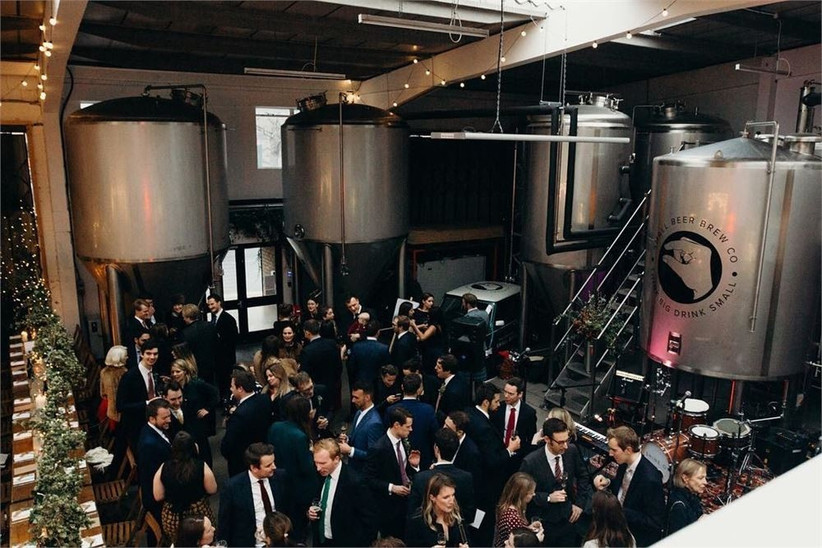 small beer brewery - best pub wedding venues