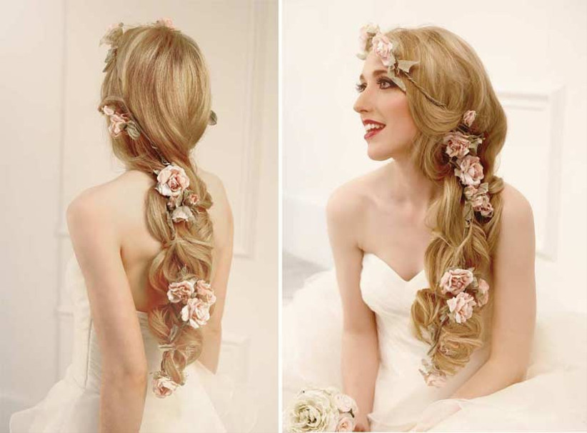 Braided Hairstyles Stunning Looks For Every Bride Hitched Co Uk