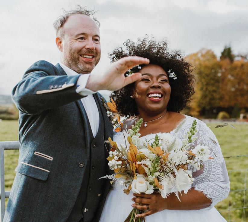real covid wedding