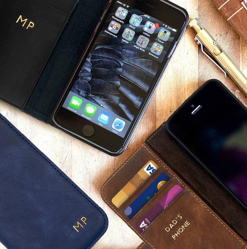 Personalised black phone case