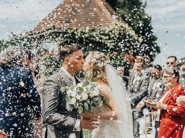 A Sunny, Summer Country Garden Wedding at Knowle Country House, Kent