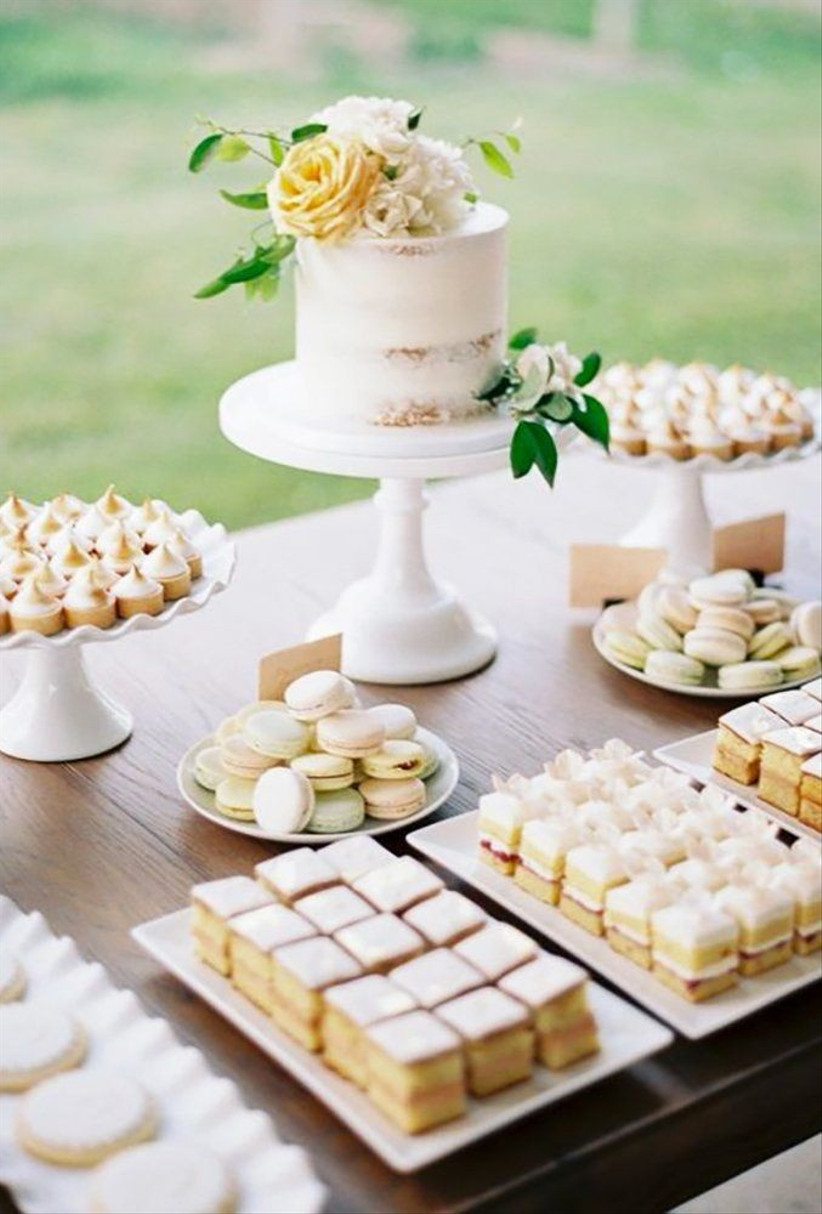 10 Amazing Wedding Dessert Table Ideas (& How to Create Your Own