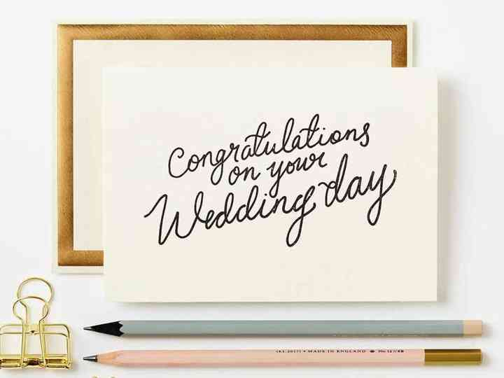 What To Write In A Wedding Card Wedding Wishes They Ll Love Hitched Co Uk