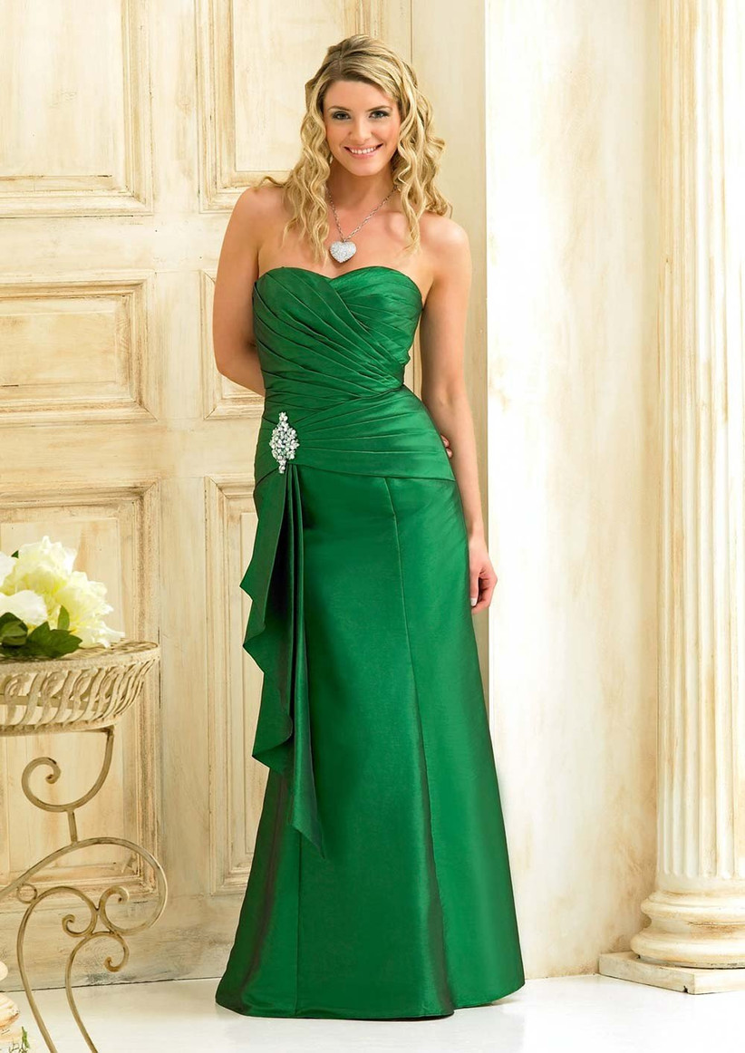 The Best Green Bridesmaid Dresses Hitched Co Uk