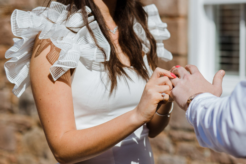 Hannah and Aaron - Coronavirus Wedding