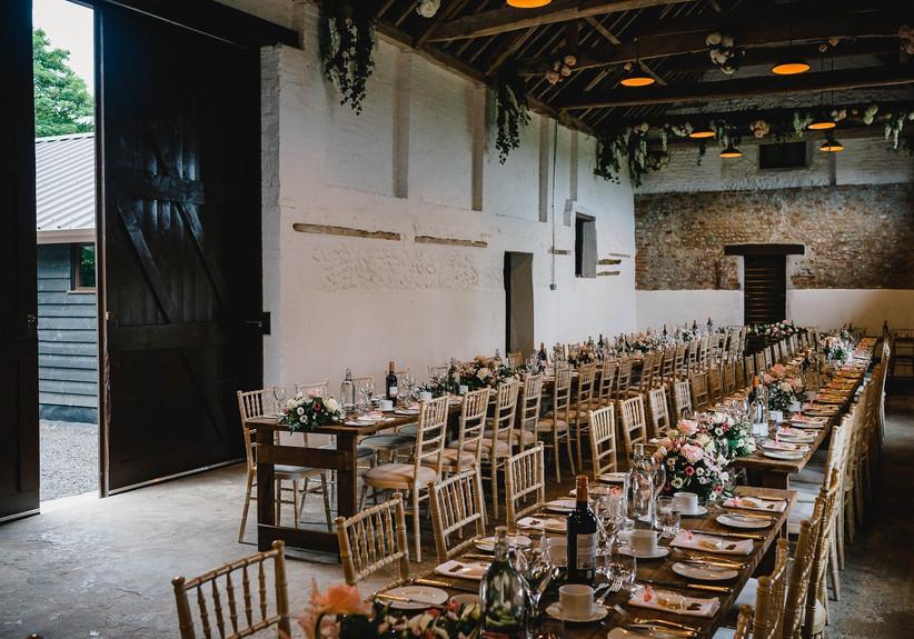 New Wedding Venues - Curds Hall Barn