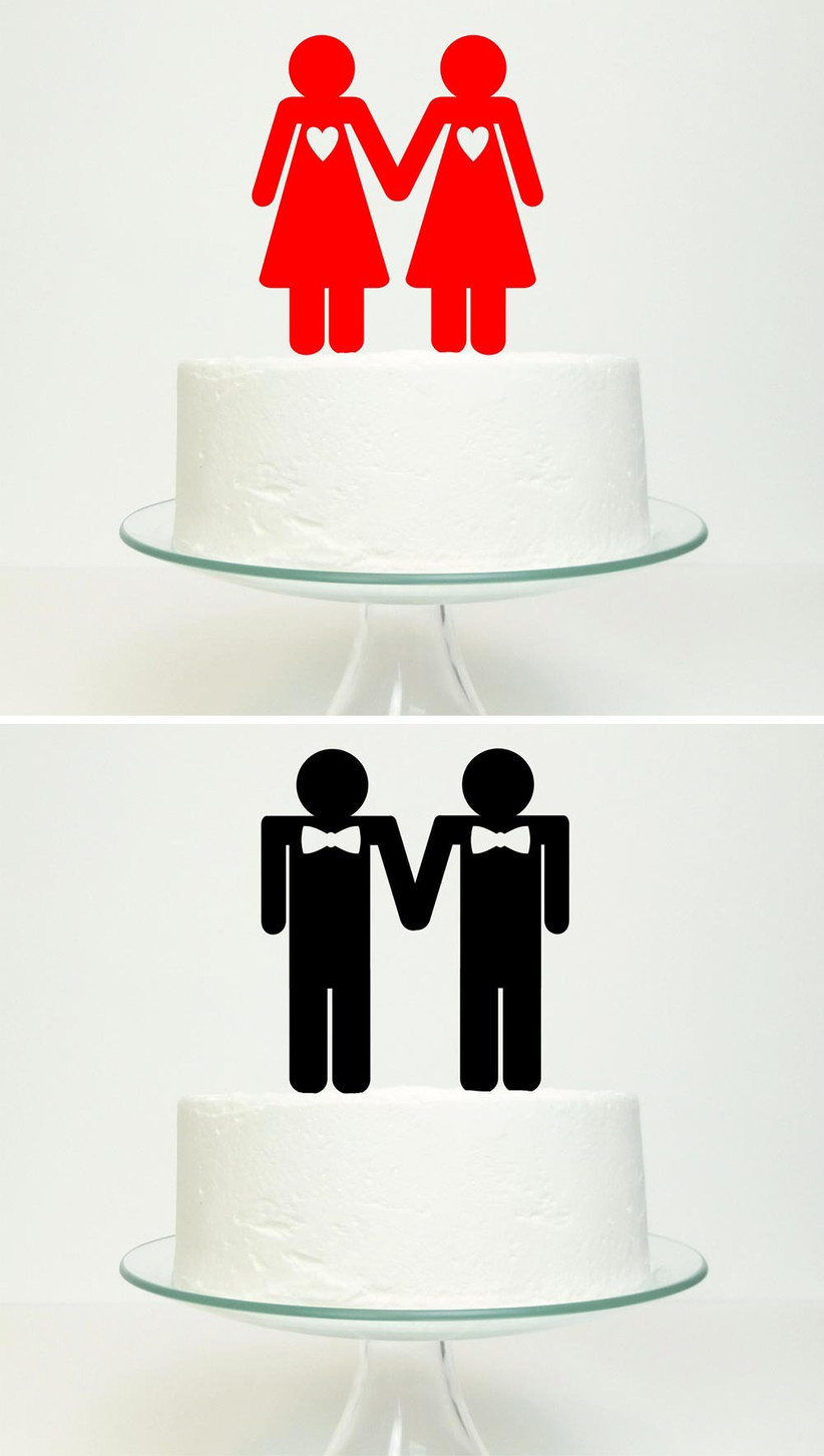 same-sex-cut-out-silhouette-cake-toppers