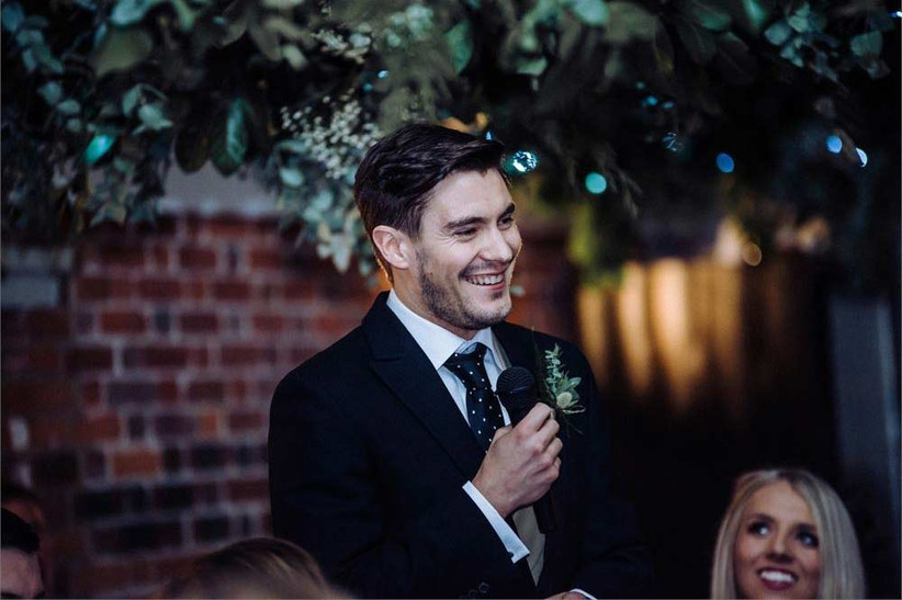 Groom Speech Tips - Emily Black Photography