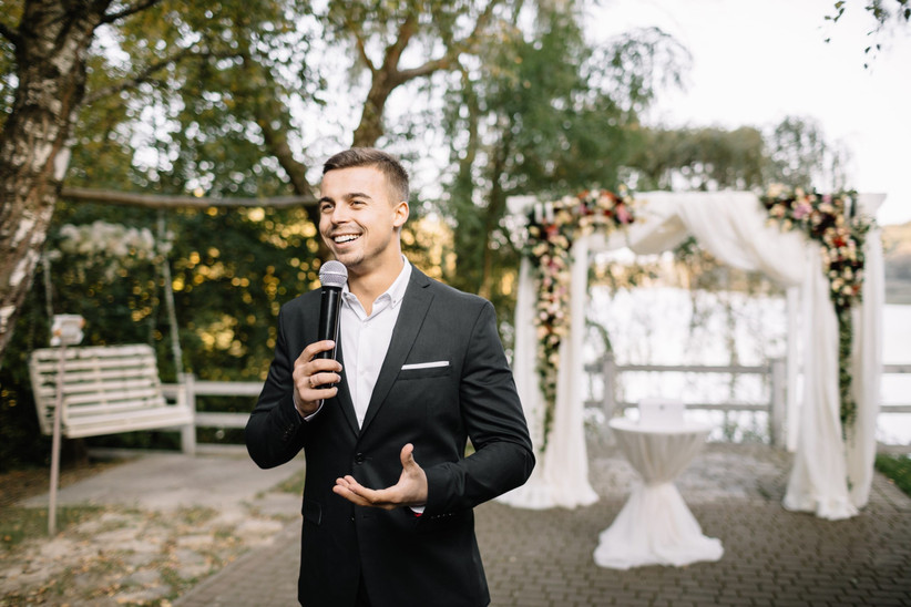 Key events in history wedding speech