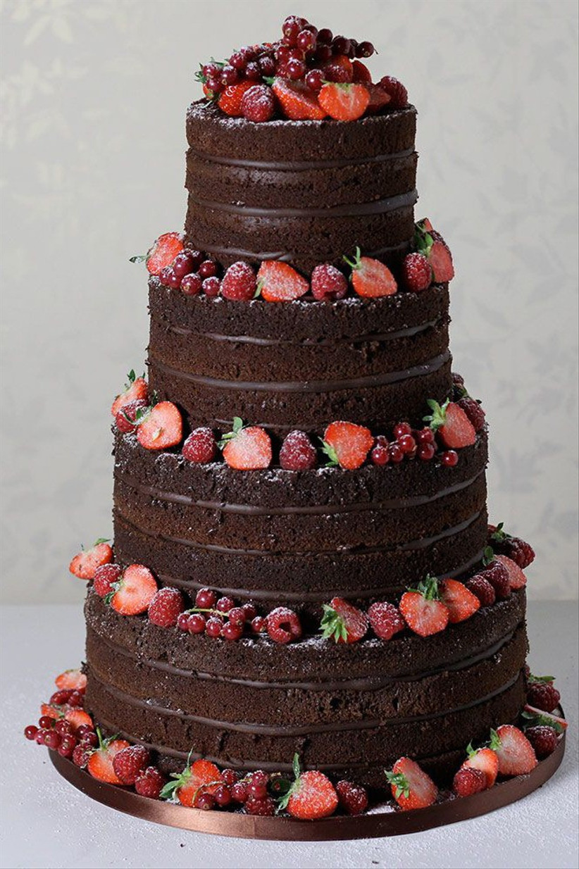 Unique-With-Chocolate-Wedding-Cakes-Hitched-Wedding-cake-ideas-elegant