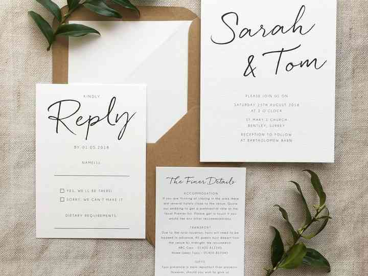 8 Ways to Save Money on Your Wedding Stationery - hitched.co.uk