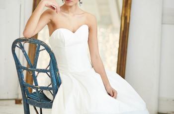 First Look! Love Island's Arabella Chi Stuns in Wedding Dress Modelling Shoot