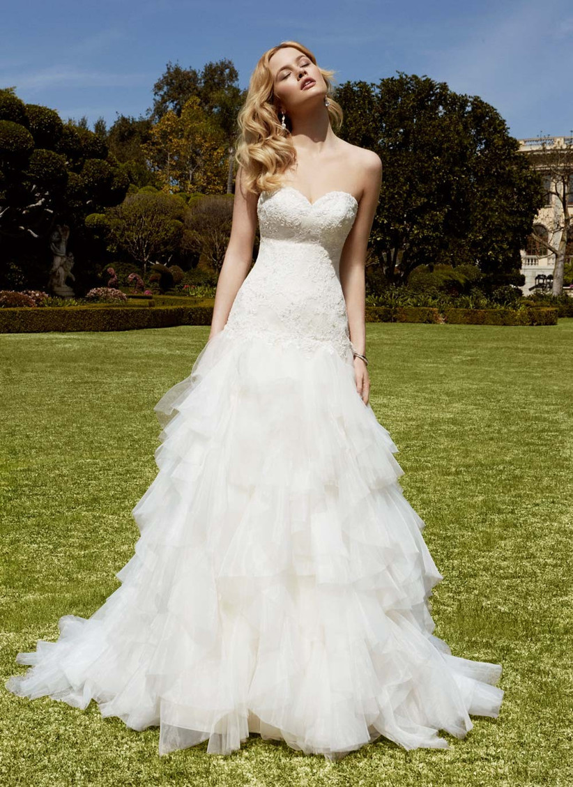 a-line-tiered-wedding-dress