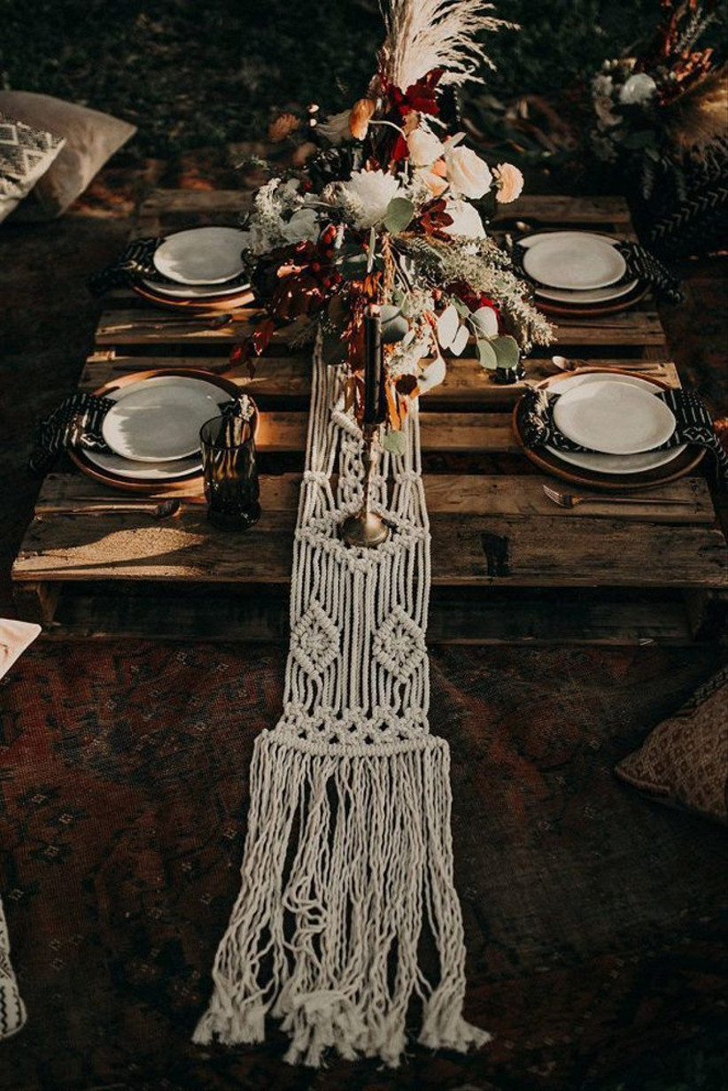 macrame-table-runner