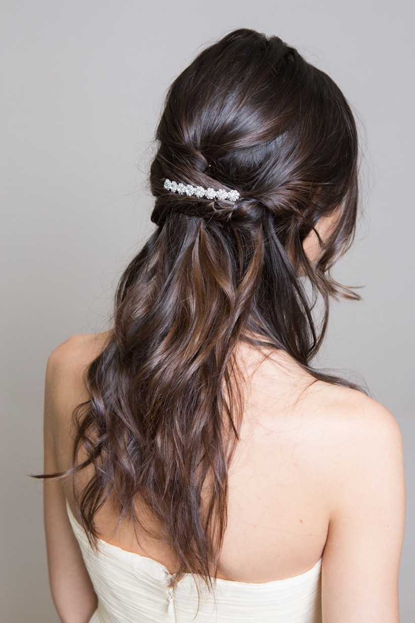 Best wedding hairstyles for long hair 49