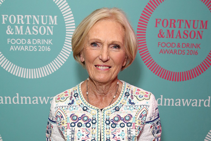 LONDON, ENGLAND - MAY 12: Mary Berry at the fourth annual Fortnum
