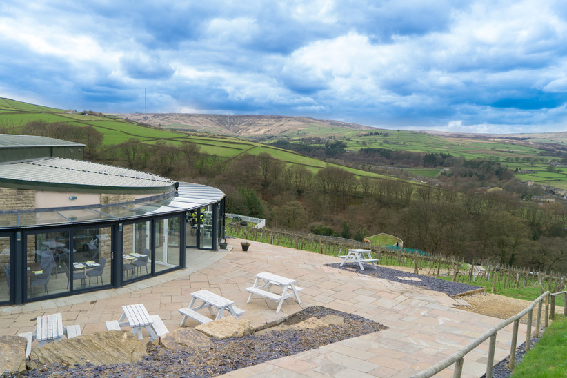 Lancashire wedding venue Holmfirth Vineyard