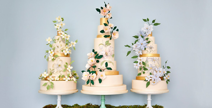 The-Botanical-Collection-Wedding-Cakes