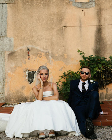 Victoria McGrath of InTheFrow's Wedding: The Dresses, Hair, Makeup, Venue and More