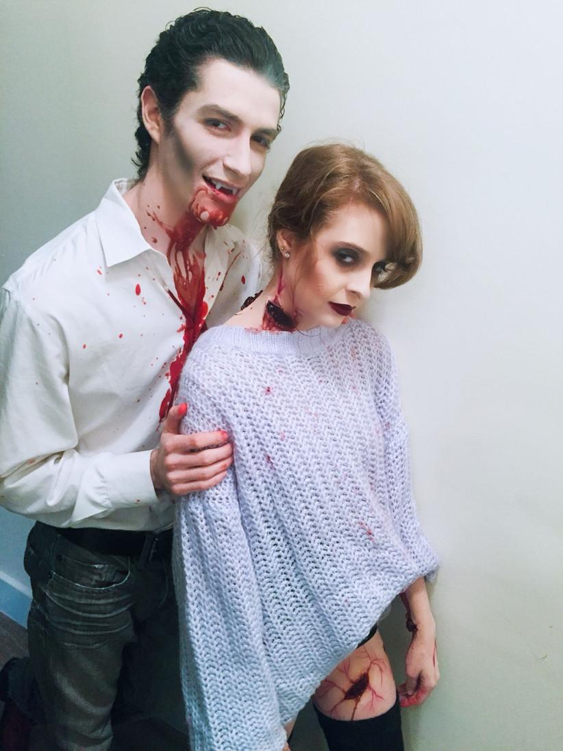 Couples Halloween Costumes vampire