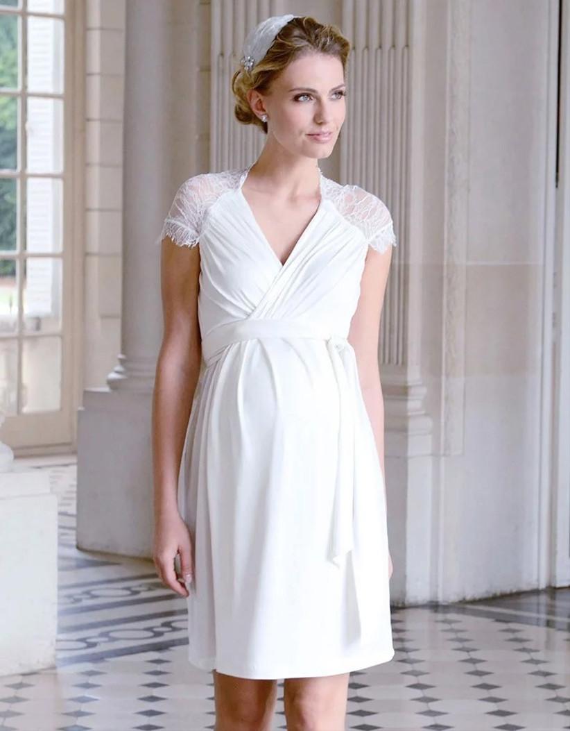 wrap-maternity-wedding-dress