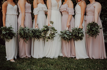 31 Long Bridesmaid Dresses Your Girls Will Love